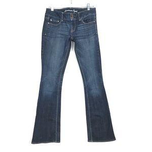 American Eagle Artist Flare Leg Jeans Size 4 Long